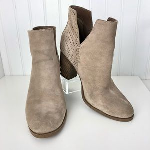 Steve Madden Shepp Suede Pull On Bootie 8.5